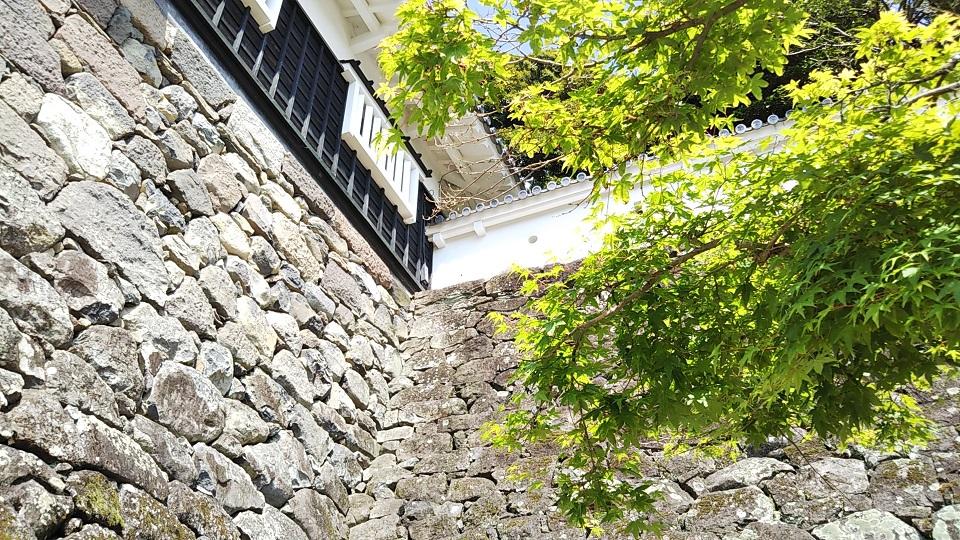 玖島城 石垣